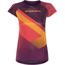 Endura SingleTrack Print II LTD Short Sleeve Jersey Women mulberry